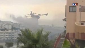 La Costa del Sol en feu