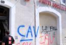 Le siège du PS de Carcassonne a été touché par une explosion, dans la nuit du 16 au 17 juillet 2013.