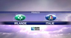 Rugby - Coupe du monde 2015 - Irlande / Italie