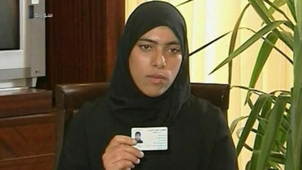 Zainab al Hosni, annoncée morte, apparaît à la télévision Syrienne le 4 octobre 2011.
