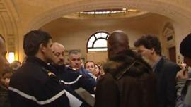 TF1/LCI - Procès en comparution immédiate du fraudeur à l'origine des heurts gare du Nord, le 29 mars 2007