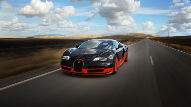 Bugatti Veyron Super Sport Orange Noir 2010