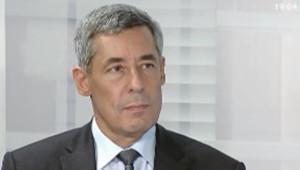 Conseiller spécial du président de la République, Henri Guaino sur France 3 le 35 septembre 2011