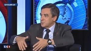 François Fillon, invité du Club LCI.