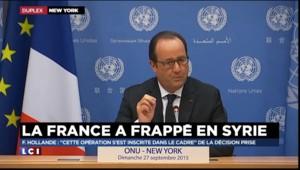 """Hollande : """"Le camp a été en totalité détruit"""""""