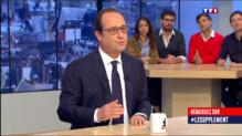 Le 20 heures du 19 avril 2015 : Après trois ans laborieux, Hollande veut convaincre - 617.095