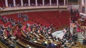Les questions d'actualité à l'Assemblée nationale boycottées par l'UMP. (26/02/2014)
