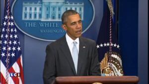 """Attaques à Paris : Obama rappelle la devise """"liberté, égalité, fraternité"""""""