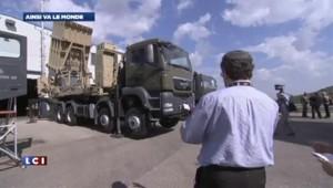 """Israël: le bouclier """"Dôme de fer"""" aurait intercepté 90% des tirs"""
