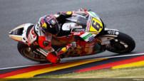 L'Allemand Stefan Bradl (LCR Honda) auteur des meilleurs temps des essais libres 2 d'Allemagne