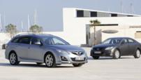 La Mazda6 restylée vise les flottes d'entreprises