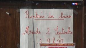 Le 13 heures du 1 septembre 2014 : R�rme des rythmes scolaires : le d�t de la pagaille - 342.663