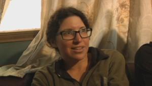 Linor Kajan, l'une des survivantes des avalanches au Népal.