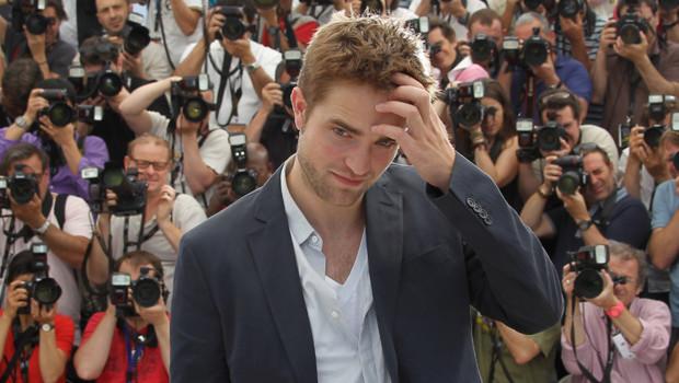Robert Pattinson lors du Festival de Cannes, le 25 mai 2012.