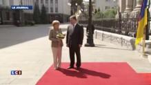Angela Merkel à Kiev