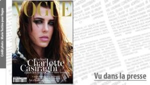 Charlotte Casiraghi Mario testino Vogue