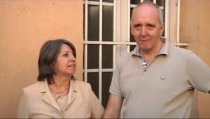 Dany Leprince à sa sortie de la maison centrale de Poissy (8 juillet 2010)