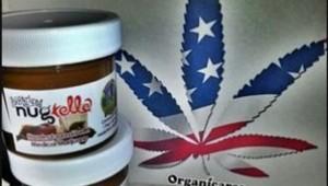 Le Nugtella, pâte à tartiner à base de cannabis vendue en Californie.