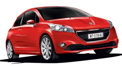 Peugeot 208 illustration