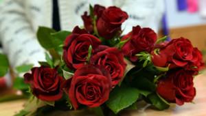 Un bouquet de roses. Images d'archives.