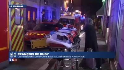"""Une camionnette fonce sur le marché de Noël à Nantes : """"Extrêmement choquant"""" pour De Rugy"""