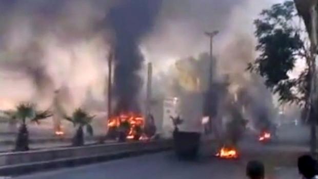 5eme jour de combat dans Damas