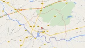 Carte de Noyers-sur-Cher dans le Loir-et-Cher