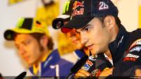 Dani Pedrosa (Honda) à la conférence de presse pré-GP d'Allemagne, jeudi