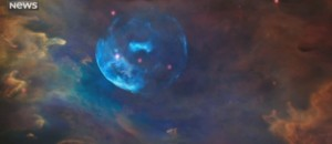 La NASA dévoile des images de la nébuleuse de la Bulle pour les 26 ans de Hubble