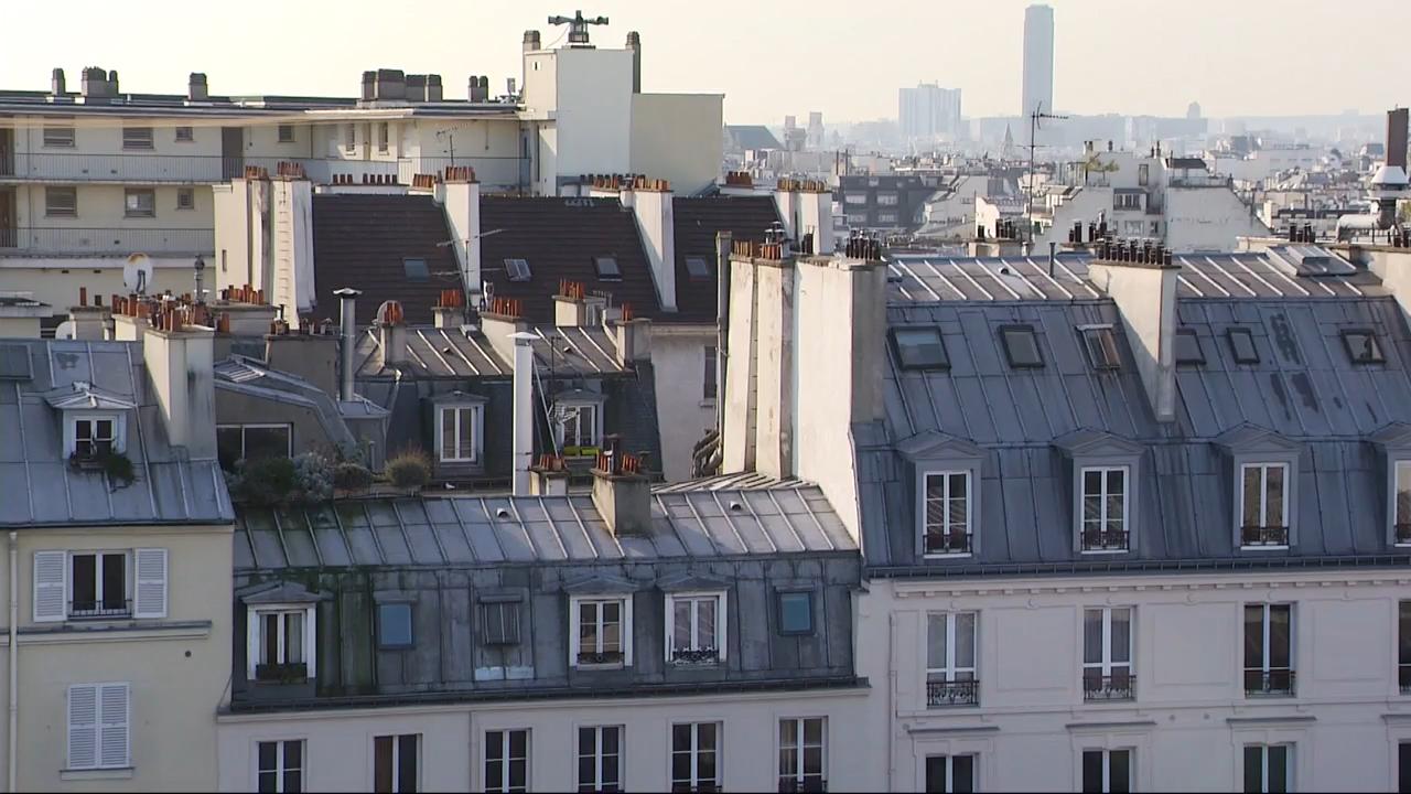 les toits de paris au patrimoine mondial de l 39 unesco le journal de 13h mytf1news. Black Bedroom Furniture Sets. Home Design Ideas