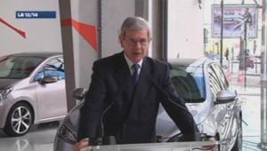 Philippe Varin président du directoire de PSA Peugeot Citroen 19/02/2014