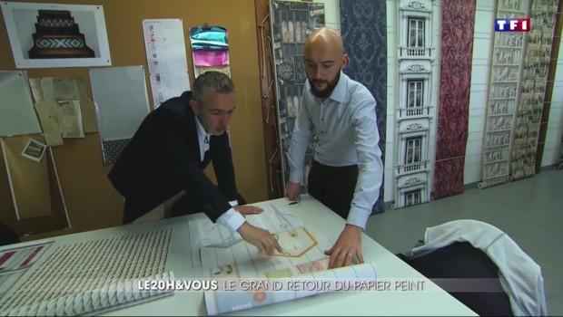 """Quand le papier peint """"made in France"""" séduit le monde entier"""