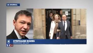 """Séparation Hollande-Trierweiler : """"Pour les Français, ce n'est pas un objet politique"""""""