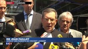 """Vincent Lambert : une décision jugée """"dramatique"""" par l'avocat des parents"""