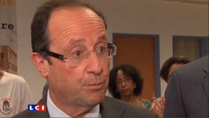 Banon-DSK : Hollande dément avoir été au courant