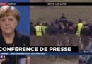 """Crash de l'A320 : Merkel promet aux familles """"de faire tout son possible"""" pour aider l'enquête"""