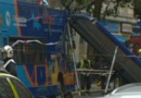 Londres : le toit d'un bus arraché (03/08)
