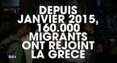 Migrants : plus de 1.700 personnes acheminées en Grèce