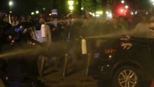 Violences à Paris en marge de la manifestation contre le mariage gay