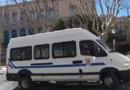 Car de CRS à Bastia, 20/2/16