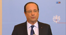 Le 20 heures du 17 mai 2013 : Mariage gay : Frans Hollande a gagnette bataille - 967.996