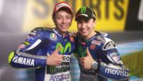 MotoGP Jerez - Yamaha - Valentino Rossi & Jorge Lorenzo