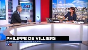"""Philippe de Villiers : """"On est dans un régime totalitaire, on n'ose plus rien dire"""""""
