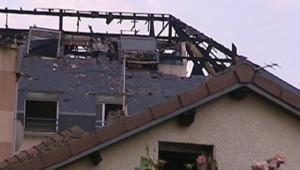 TF1/LCI Incendie Goussainville Val d'Oise feu sinistre
