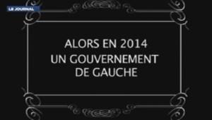 Capture d'écran des voeux du PCF réalisés avec trucages 31/12/13