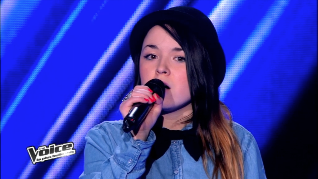 The Voice 2 : la plus belle voix - Fanny Melili interprète So Far Away from L.A. (Nicolas Peyrac)