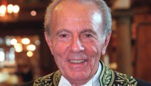François Jacob, Nobel de médecine en 1965, décédé le 19 avril 2013.