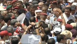 Le 20 heures du 27 juillet 2013 : Tunisie : mar�humaine pour les fun�illes de Mohamed Brahmi - 830.217