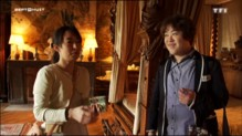 Lit à baldaquin, tapisserie du 18è siècle... la vie de château pour touristes cossus