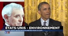 """Lutte contre le réchauffement climatique : Obama """"tourne le dos au charbon"""""""